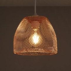 Kitchen Wire Storage Sturdy Chairs Colours Gatun Copper Light Shade (d)205mm ...