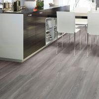 Grey Natural Oak Effect Waterproof Luxury Vinyl Click