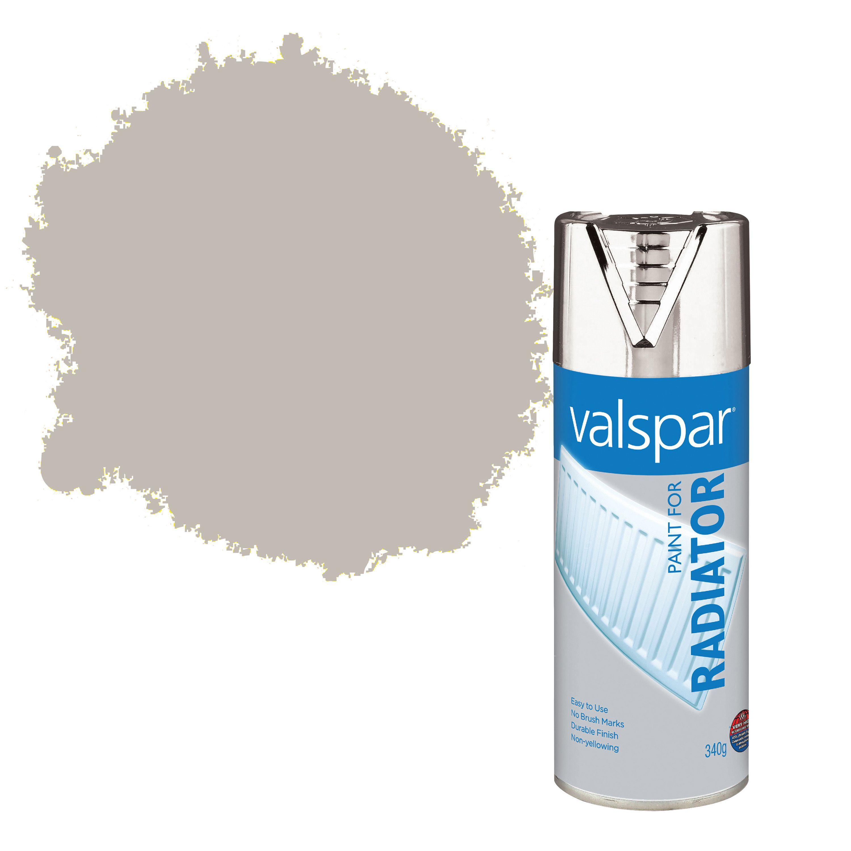 Valspar Silver Satin Chrome Radiator Spray Paint