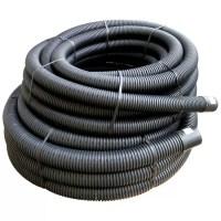 Floplast Land Drainage Flexible Coil Pipe (Dia)80mm, Black ...