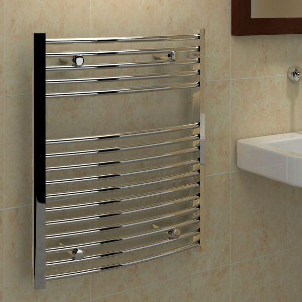 Kudox Towel Warmer 750mm 600mm Departments Diy
