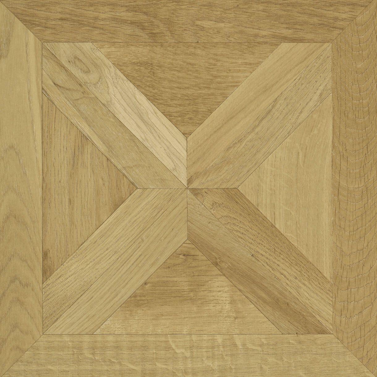 Staccato Natural Oak Parquet Effect Laminate Flooring 0