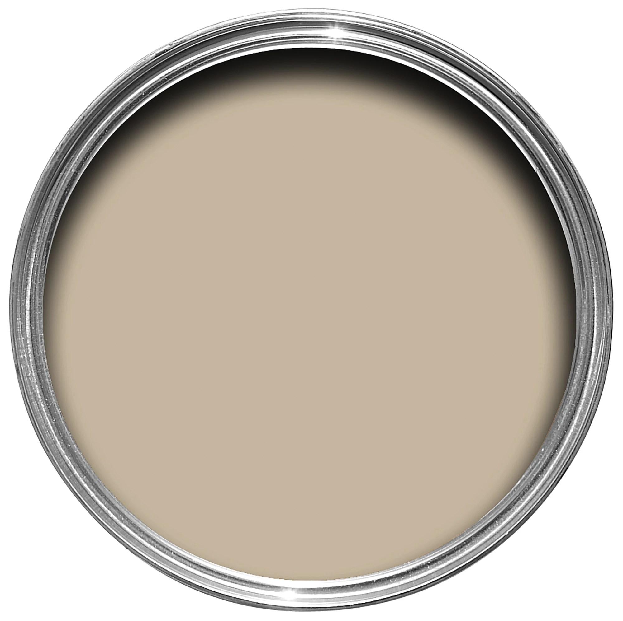 Colours Warm Beige Matt Emulsion Paint 5L  Departments