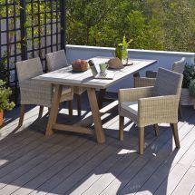Praslin Seater Garden Dining Set Departments Diy &