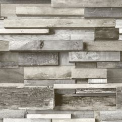 Kitchen Cabinets Clearance Delta Lewiston Faucet Gold Horizontal Wood Grey Faux Wall Wallpaper ...
