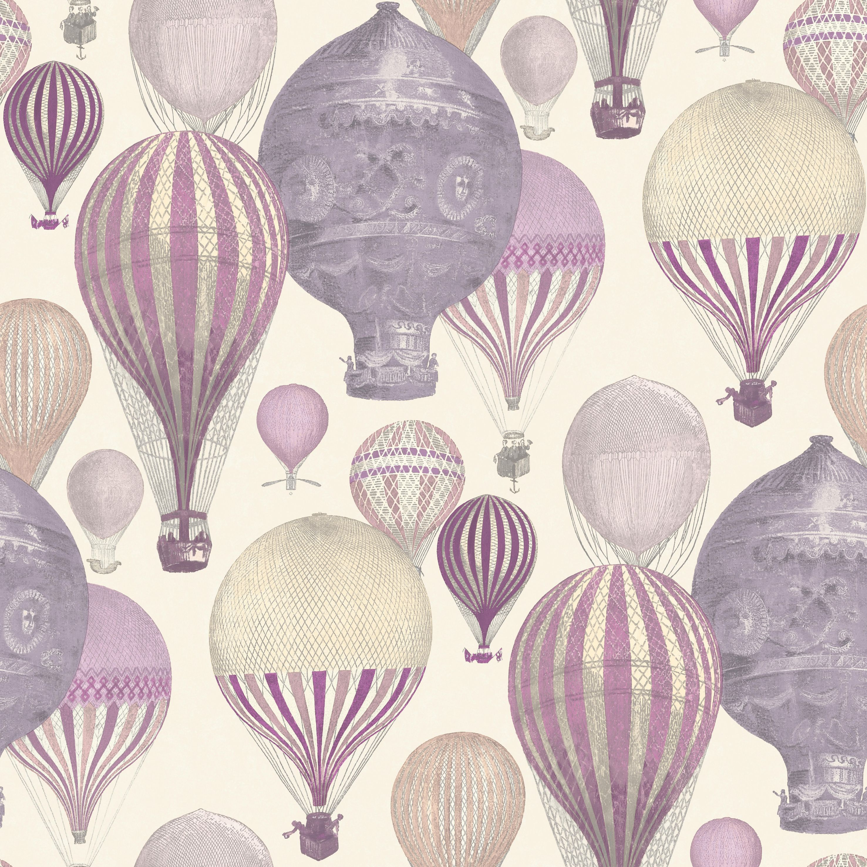 hot pink chairs mid century cane barrel chair ideco home laurent & purple air balloon wallpaper   departments diy at b&q