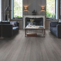 Quick-step Paso Dark grey Oak effect Waterproof Luxury ...