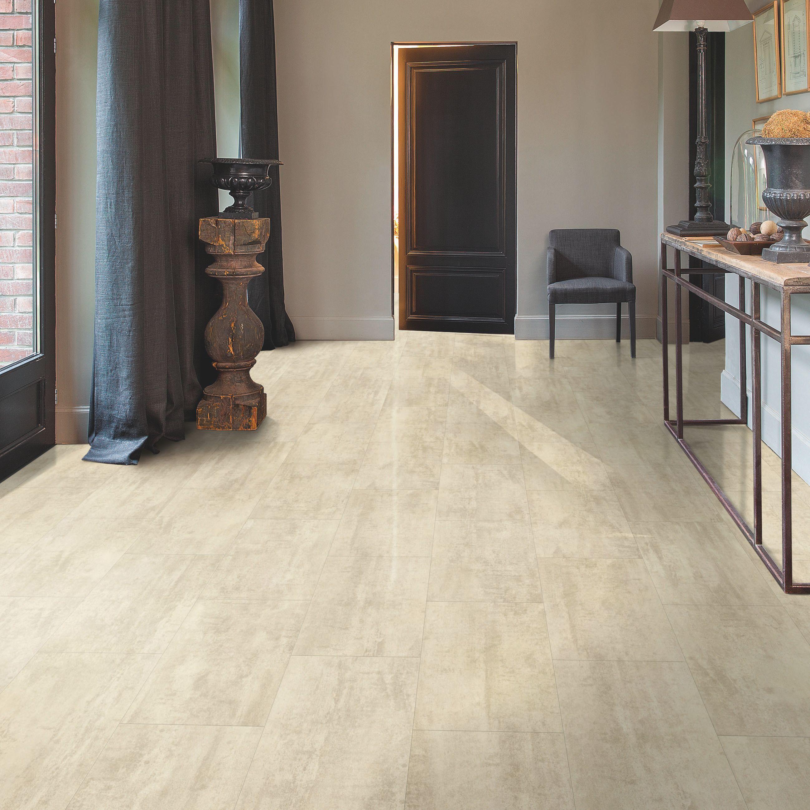 luxury kitchen appliances unfinished oak cabinets home depot quick-step lima beige travertine effect waterproof ...