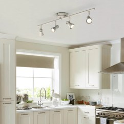Kitchen Spotlights L Shaped Island Lights Ceiling Spot Amp Downlights