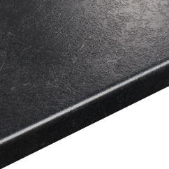 Kitchens On Clearance Double Glazed Kitchen Doors 38mm Basalt Slate Grey Stone Effect Round Edge Laminate ...