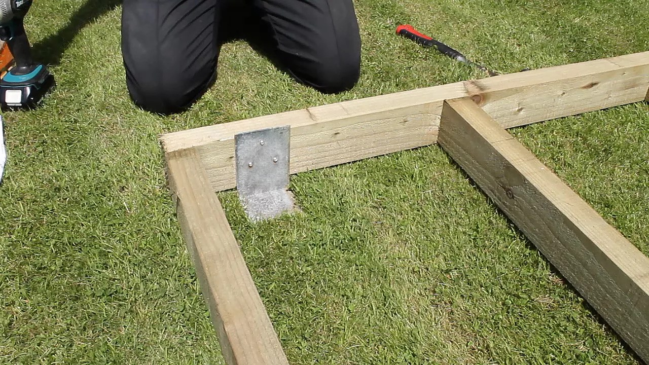 How To Build A Shed Base Help & Ideas DIY At B&Q