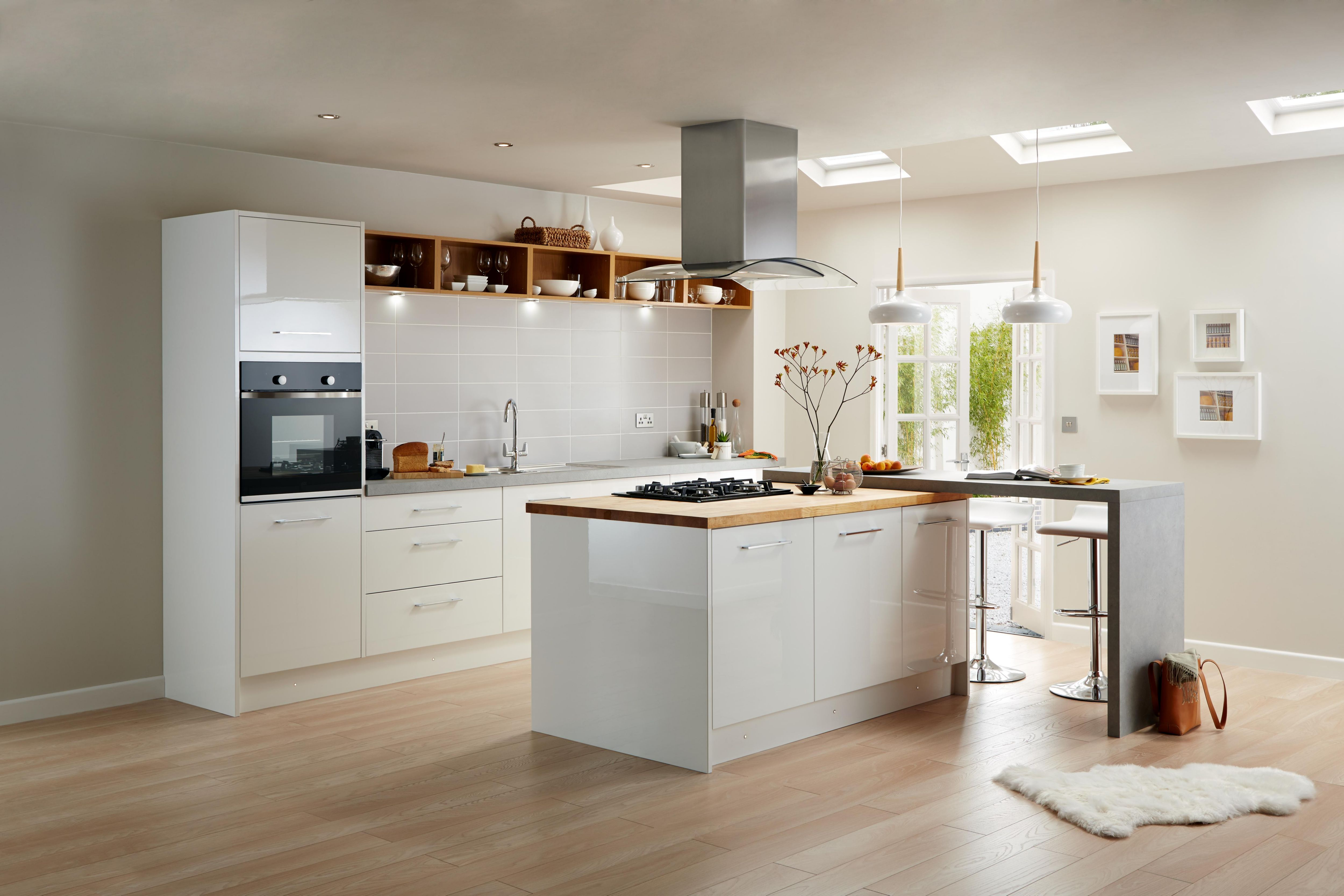 building kitchen wall cabinets and bathroom kitchens | worktops & diy at b&q