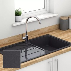 Sinks Kitchen Rack Composite Quartz