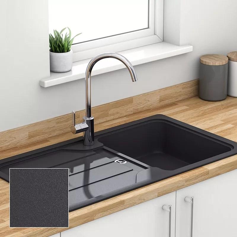 cheap kitchen sinks island granite top breakfast bar composite quartz