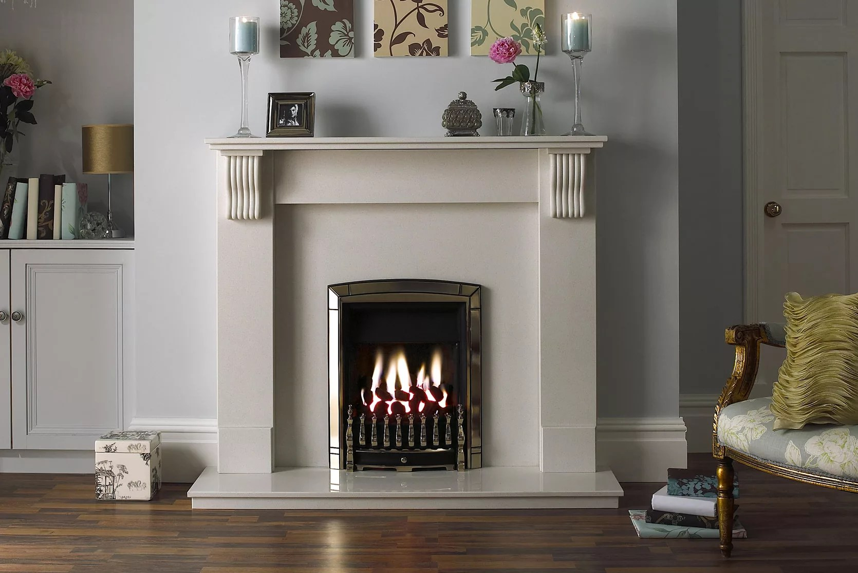 Stone Fireplace Surrounds Ideas Fires & Surrounds Buying Guide | Ideas & Advice | Diy At B&q