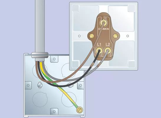 how to wire a 4 way switch system
