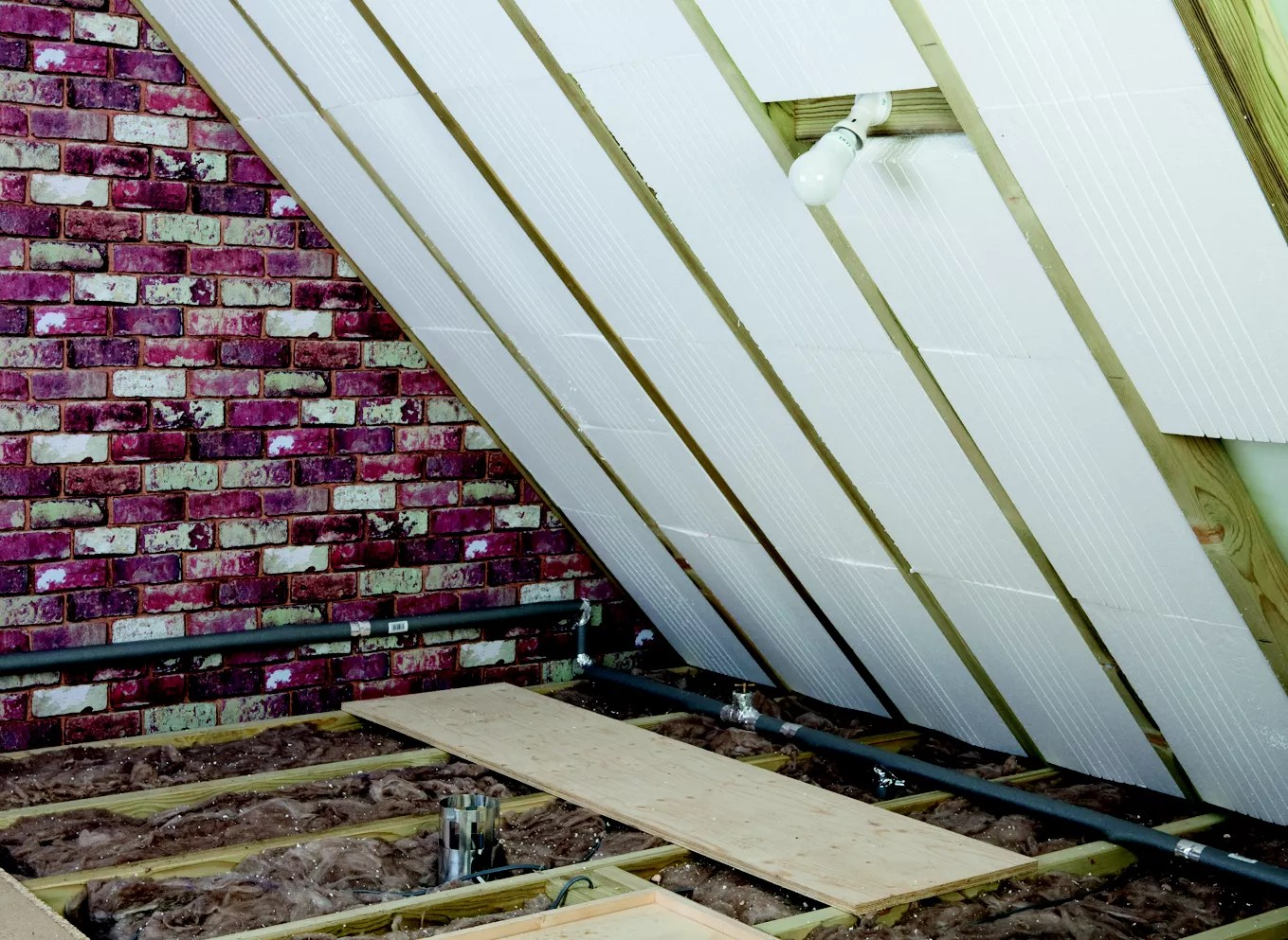 How to lay loft floor insulation  Ideas  Advice  DIY at BQ