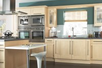 IT Westleigh Contemporary Maple Effect Shaker | DIY at B&Q