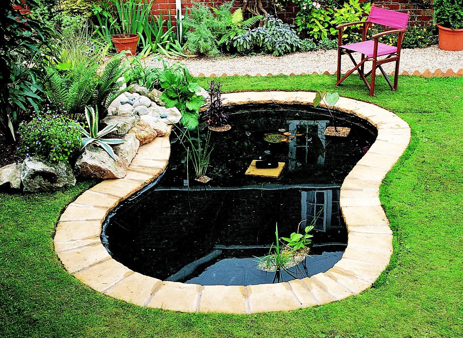 How To Create A Pond Help & Ideas DIY At B&Q