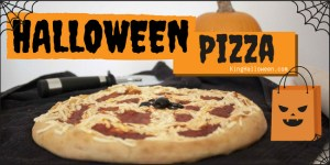 Halloween Pizza Infographic