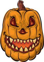 Jack-o-lantern face