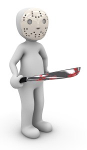 Jason Voorhees with Bloody Machete