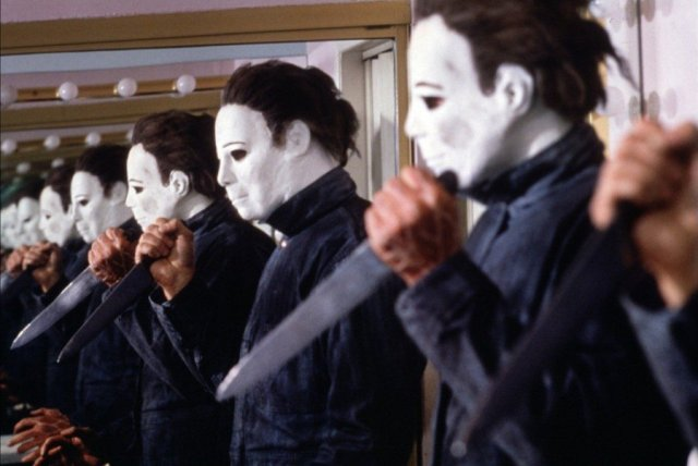 Michael Myers Mirror Images Halloween