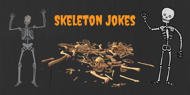 Skeleton Jokes - King Halloween