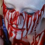 Easy fake blood recipe on face