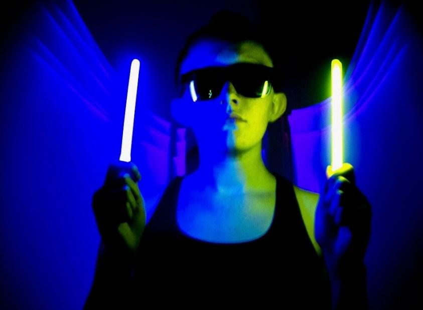 glow sticks Halloween safety tips