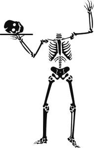 Headless Skeleton Funny