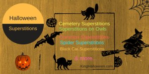 Halloween Superstitions Infographic