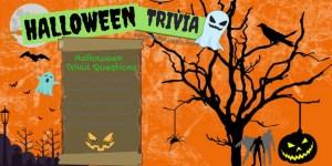 Halloween Trivia Infographic
