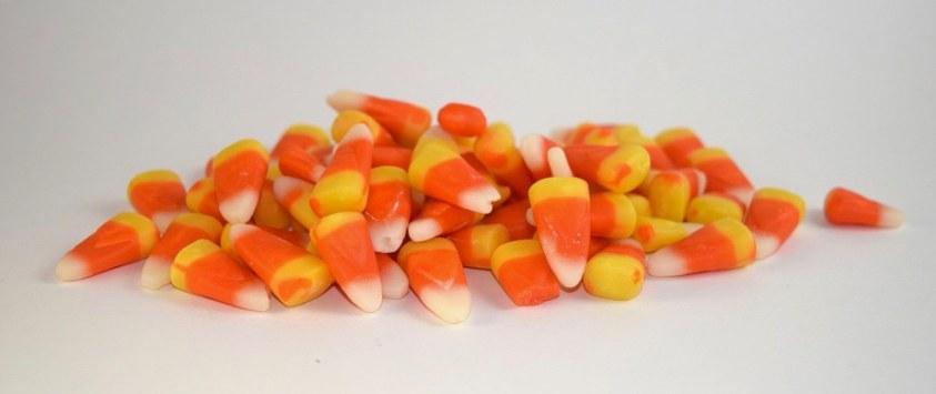 Candy corn pile Halloween trivia