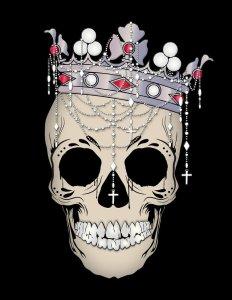 About King Halloween Skull