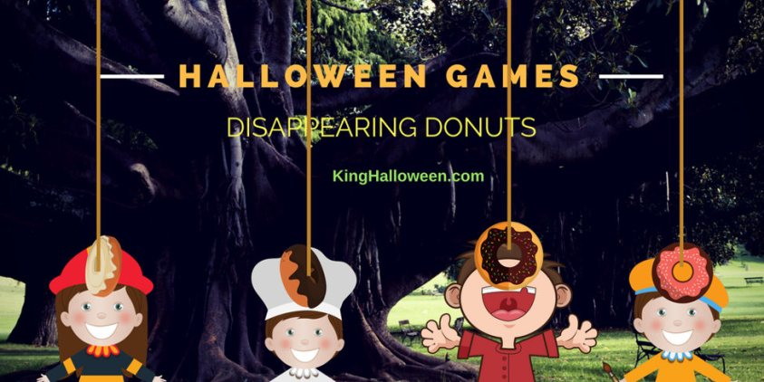 Disappearing Donut Halloween games for children