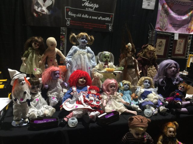Dreadful little things group of dolls