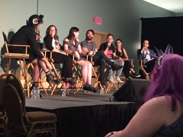 Panel at LB Midsummer Scream