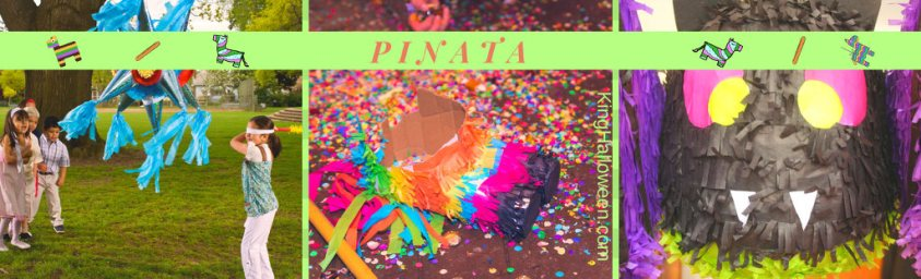 Piñata Halloween Games for Children