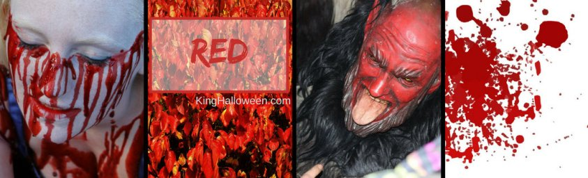 Red Halloween Colors