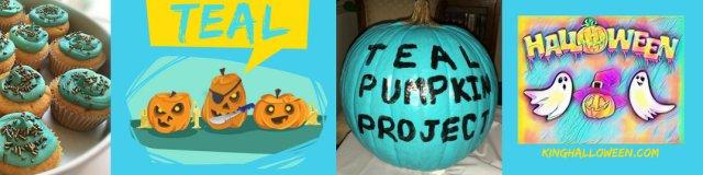 Teal Halloween Color