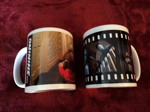 Two Halloween Movie Mugs
