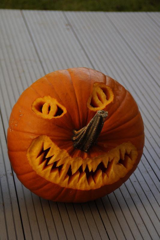 pumpkin face ideas stem nosed pumpkin