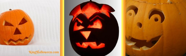 simple pumpkin carving ideas three classic