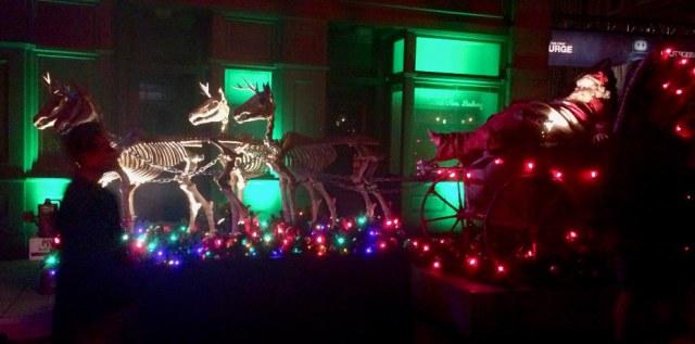 Christmas at Holidayz in Hell HHN Hollywood