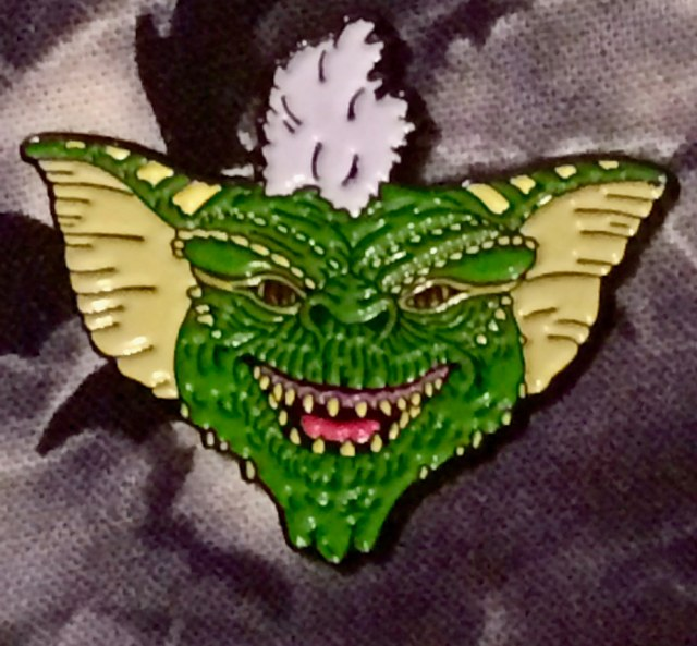 The Gremlins Scary Characters Stripe Pin