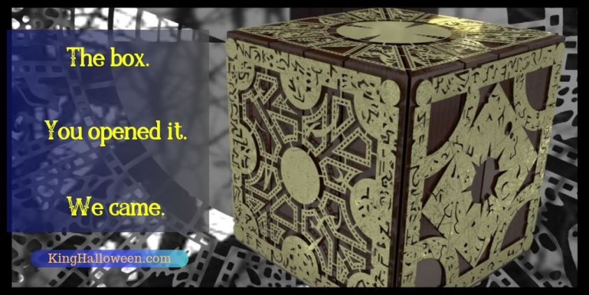 Hellraiser quotes solve the box we came