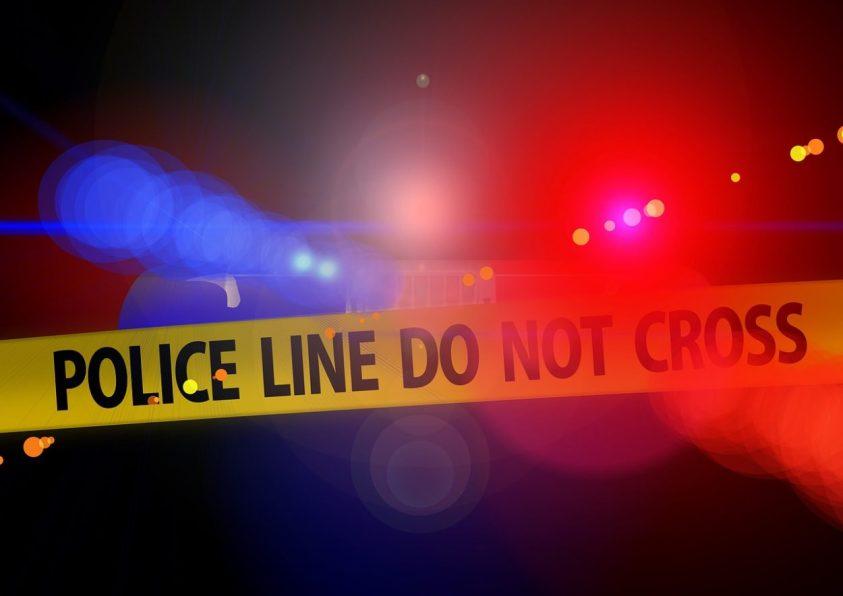 Police Crime Scene Halloween Riddle