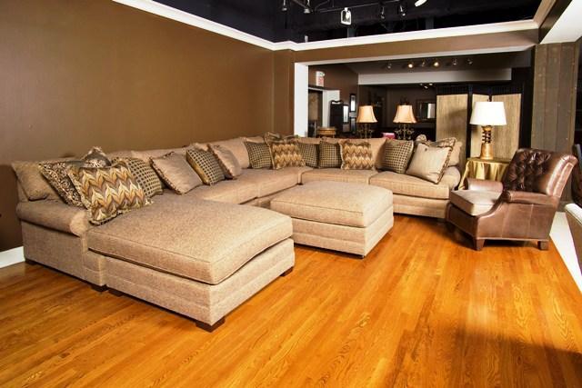sienna sofa flexsteel dylan leather conversation king hickory
