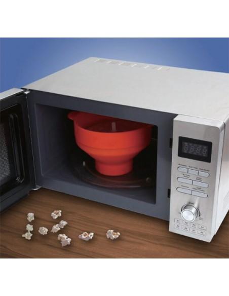 silicone microwave popcorn maker